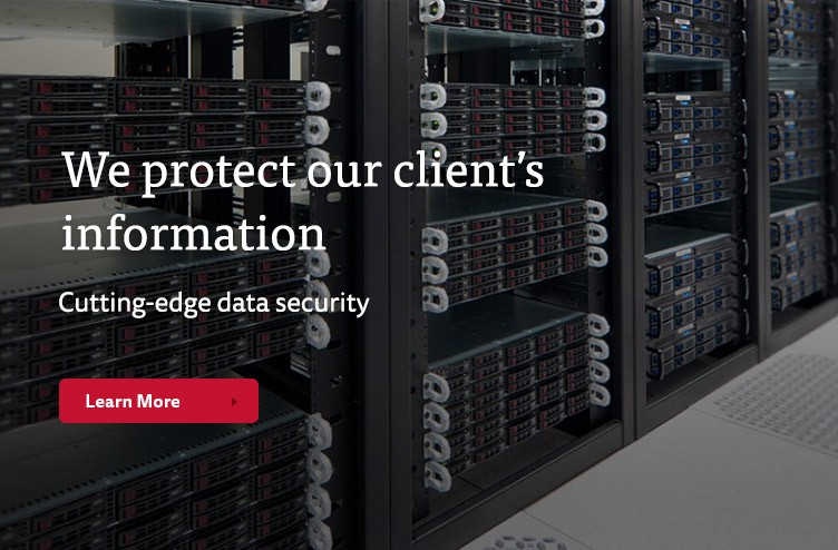 We protect our client's information