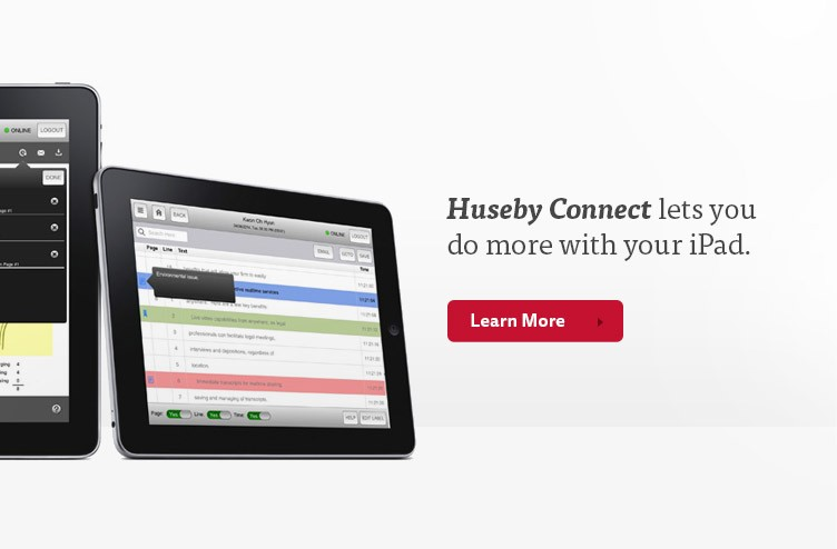 HusebyConnect lets you do more with your iPad.