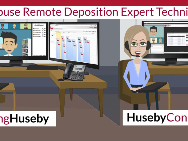 Remote Deposition Expert Technicians